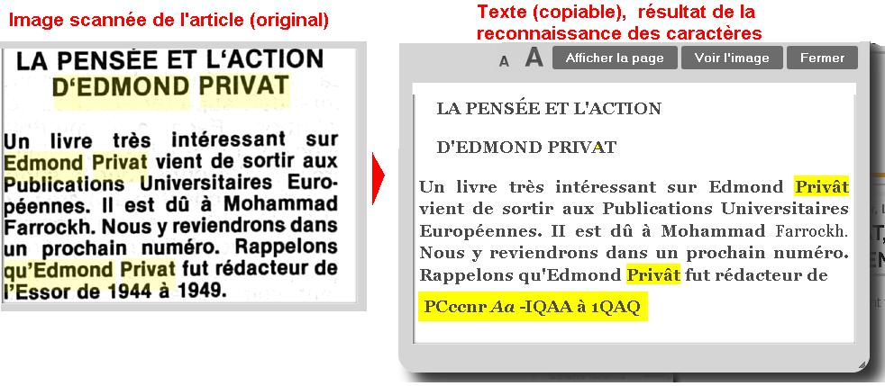 Exemple OCR